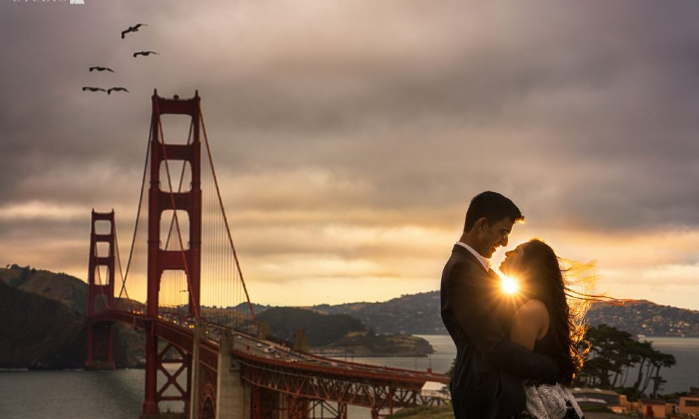 Should you do your outdoor shoot before or after the wedding?