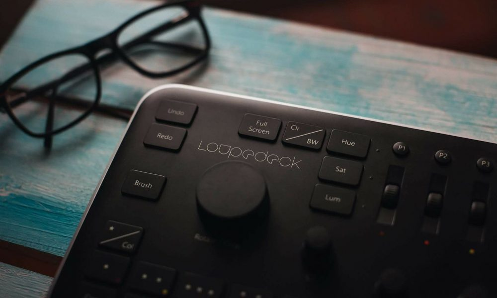 Loupedeck exclusive editing console for Lightroom
